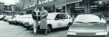 1988  Eerste bedrijfswagens