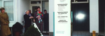 1991  Opening bedrijfspand